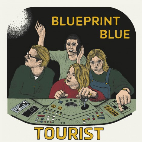 Blueprint Blue - Tourist