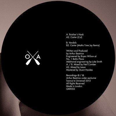 Arthur Beatrice - Carter EP